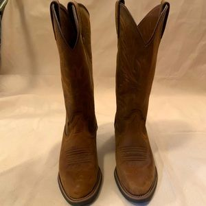 Justin's Western Leather Boot, McKayla size W 7.5